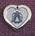 Christmas angel engraved ornaments