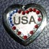 USA pendants engraved tags