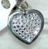 diamond crystal dog tags