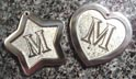 initial engraved pet dog id tags