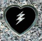 lightning bolt crystal tags