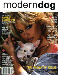 pamela anderson dogs