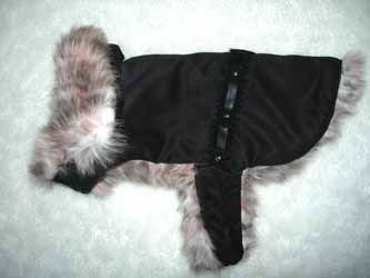 DESIGNER FAUX FUR DOG COATS: faux suede clothing with western ...