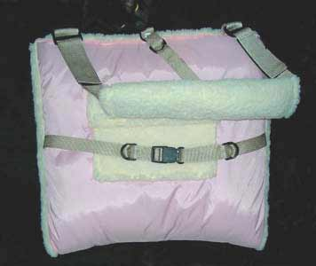 soft padded carrier purses