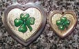 shamrock engraved pendants id tags