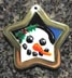 snowman engraved pendants id tags